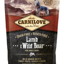 Carnilove Grain Free Lamb&Wild Boar 1,5kg