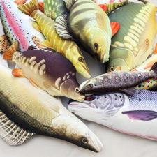 Polštáře nejen pro rybáře