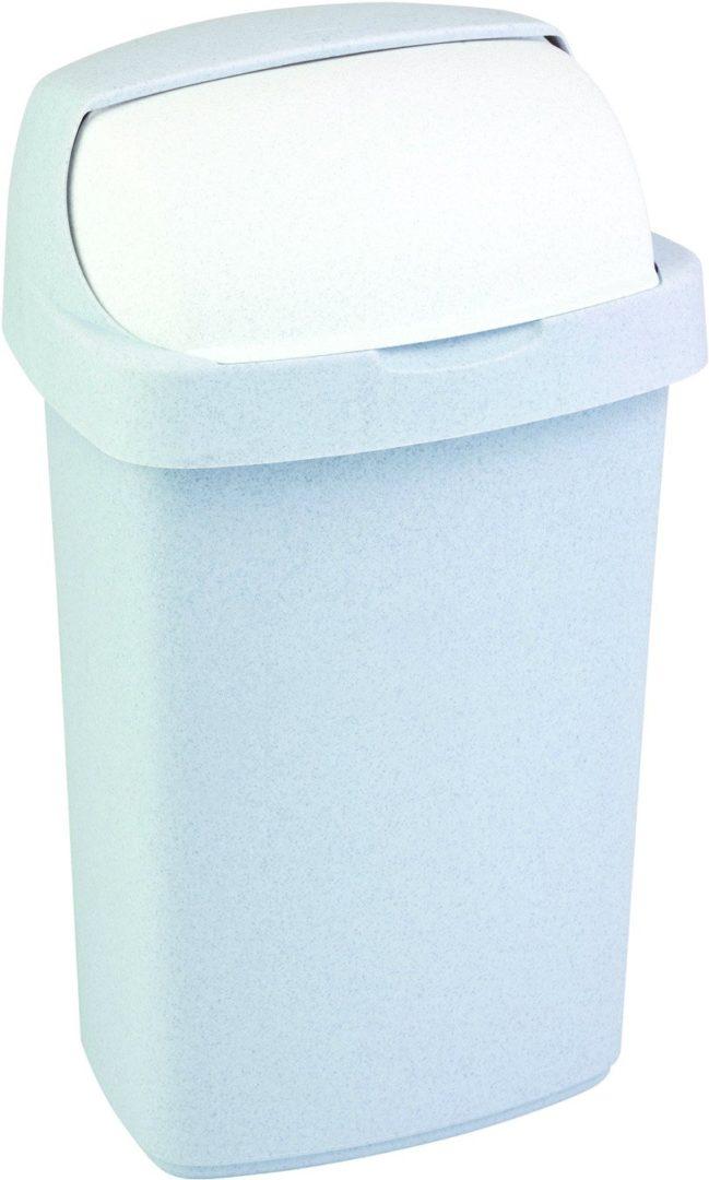 Odpadkový koš ROLL TOP 10l šedý