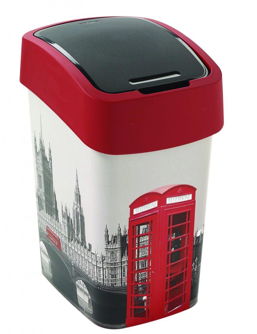 Odpadkový koš FLIP BIN 25l Londýn