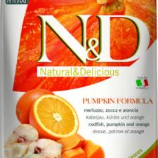 N&D Pumpkin Adult M/L Codfish & Orange