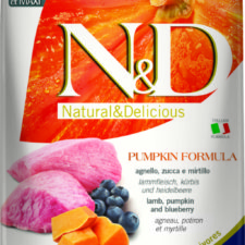 N&D Pumpkin Adult M/L Lamb & Blueberry