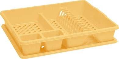 Odkapávač na nádobí - žlutý
