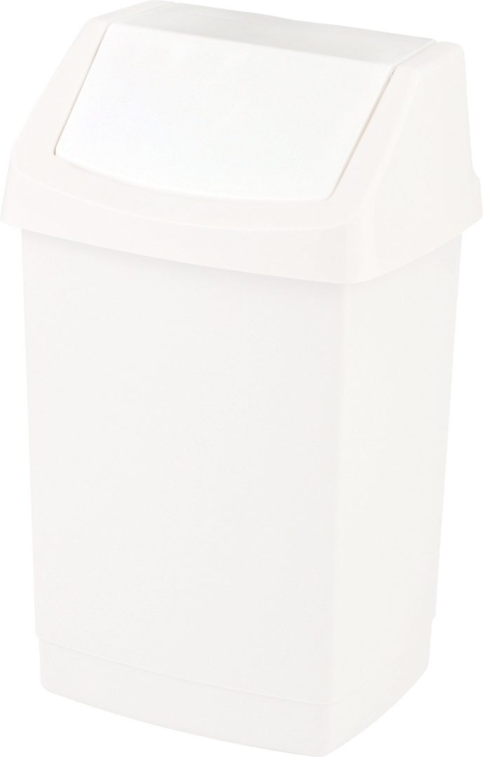 Odpadkový koš CLICK-IT 9L - bílý