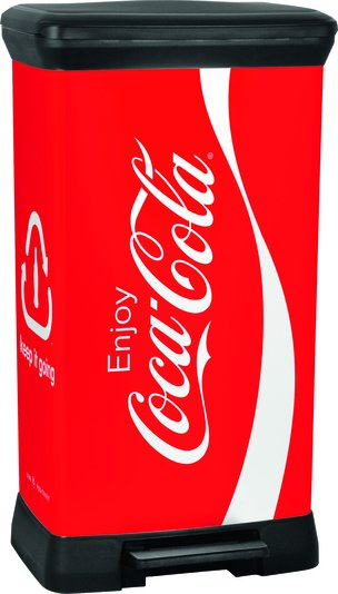 Odpadkový koš Coca-Cola 50l