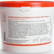 Ichtammolová mast 10% 1kg veterinární