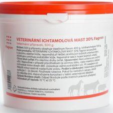 Ichtammolová mast 20% 1kg veterinární
