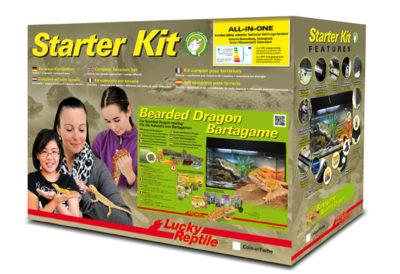 Lucky Reptile Starter Kit Bearded Dragon 80x40x52 cm černé