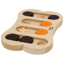 Karlie-Flamingo Interaktivní dřevěná hračka APOLLO 30x20cm