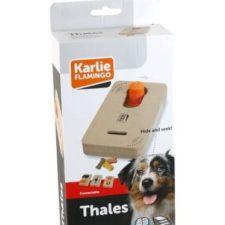 Karlie-Flamingo Interaktivní dřevěná hračka THALES 22x12cm