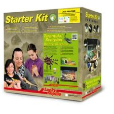Lucky Reptile Starter Kit Tarantula + Scorpion 50x28x40 cm černé