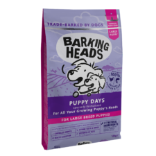 BARKING HEADS Puppy Days (Large Breed)