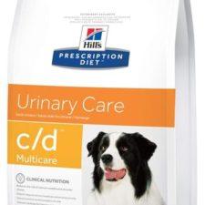 Hill's Canine C/D Dry Multicare 12 kg