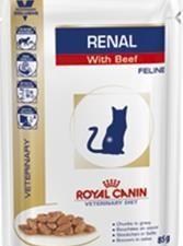 Royal Canin VD Cat kaps. Renal beef 12 x 85 g
