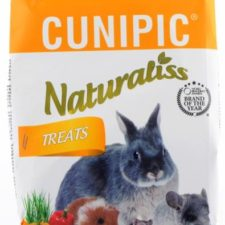 Cunipic Naturaliss snack Treats pro drobné savce 60 g