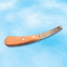 Nůž kopytní levý se širokou čepelí 1ks