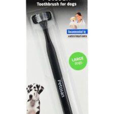Petosan zubní kartáček dvouhlavý pro psy Large