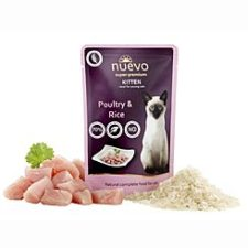 Nuevo kotě kapsa drůbeží s rýží 85g