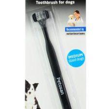 Petosan zubní kartáček dvouhlavý pro psy Medium