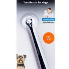 Petosan zubní kartáček dvouhlavý pro psy Toy Dog