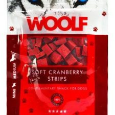 WOOLF pochoutka soft cranberry strips 100g