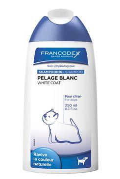 Francodex Šampon bílá srst pes 250ml