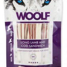 WOOLF pochoutka soft lamb and cod sandwich long 100g