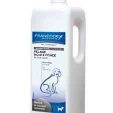 Francodex Šampon černá srst pes 1L