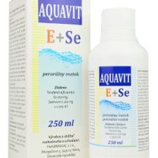 Aquavit E+Se sol 250ml