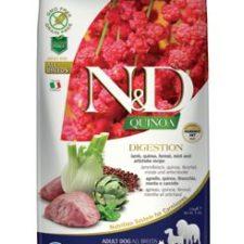 N&D GF Quinoa DOG Digestion Lamb & Fennel 2