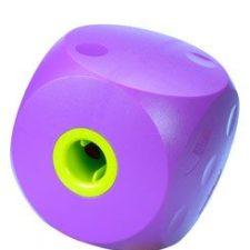 Hračka pes BUSTER Food Cube fialová 12cm