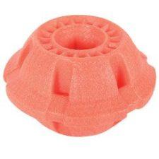 Hračka pes BALL MOOS TPR POP 8cm lososová Zolux
