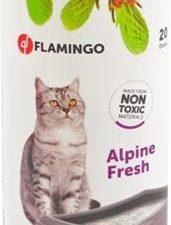 Deodorant do WC - vůně zelených hor Flamingo 750 g