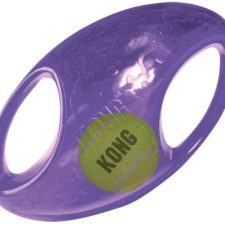 Hračka guma + tenis Jumbler míč rugby Kong large/X-large