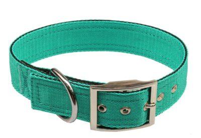 Obojek nylon zelený B&F 4,0 x 50 cm