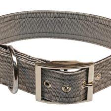 Obojek nylon šedý B&F 4,0 x 60 cm