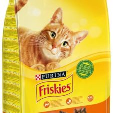 Friskies cat dry - kuře, zelenina 10 kg