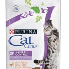 Purina Cat Chow Hairball Control - kuře 15 kg