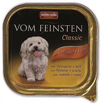 Animonda VomFeinsten Clas. dog van. - drůbeží, telecí 150 g