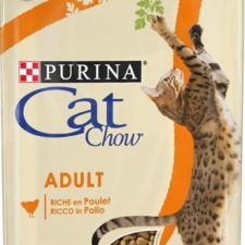Purina Cat Chow Adult - kuře a krůta 1,5 kg
