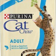 Purina Cat Chow Adult - losos a tuňák 1,5 kg