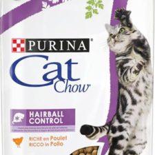 Purina Cat Chow Hairball Control - kuře 1,5 kg