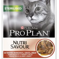PRO PLAN Cat kaps. Sterilised Beef 85 g