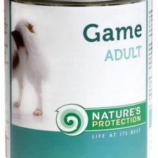 Nature's Protection Dog konz.Adult zvěřina 200 g