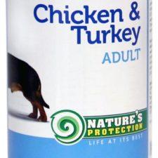Nature's Protection Dog konz.Adult kuře/krůta 400 g