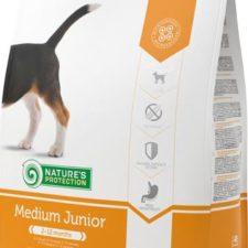 Nature's Protection Dog Dry Junior Medium 7,5 kg