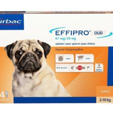 Effipro Duo S 67/20 mg spot-on 4 x 0.67 ml
