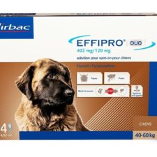 Effipro Duo XL 402/120 mg spot-on 4 x 4.02 ml
