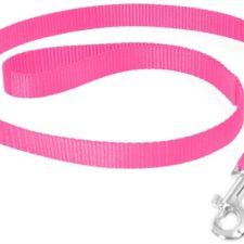 Vodítko nylon Růžová DUVO+ 2,5 x 100 cm