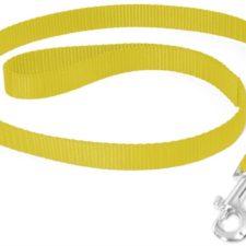 Vodítko nylon Žlutá DUVO+ 2,0 x 100 cm